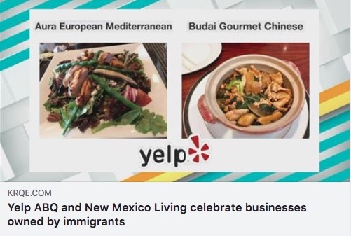 Thank You Yelp For Celebrating Budai As A Great Place To Eat In Albuquerque